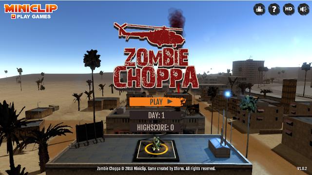 Zombie Choppa, zombie, giochi online