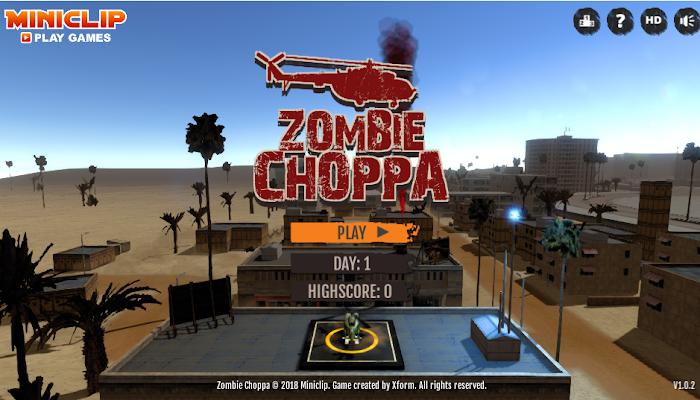 Gioca a Zombie Choppa