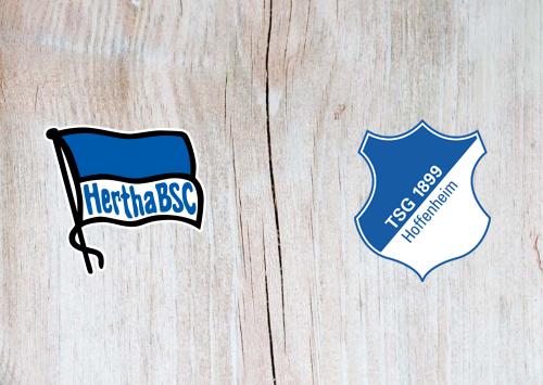 Hertha BSC vs Hoffenheim -Highlights 26 October 2019
