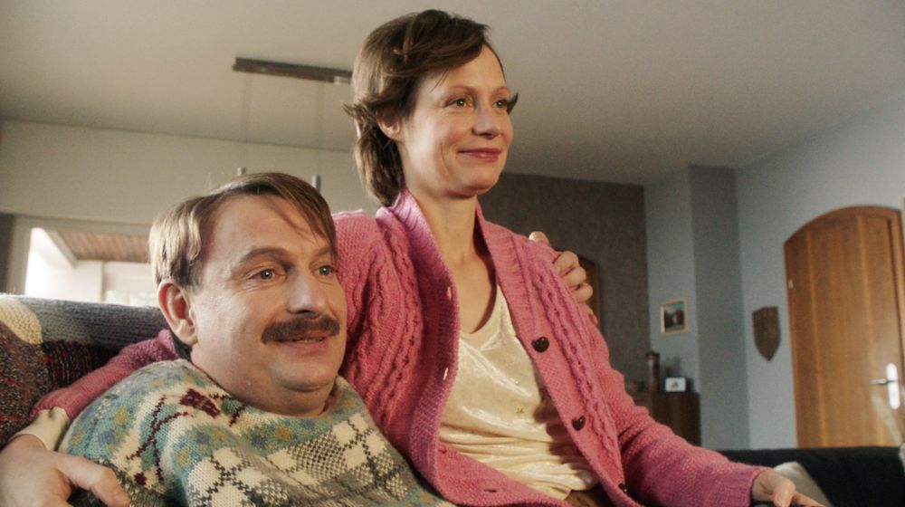 Ein Herz und eine Seele: Hajo Lohmann (Peter Trabner) und seine Frau Biggi (Katharina Marie Schubert).