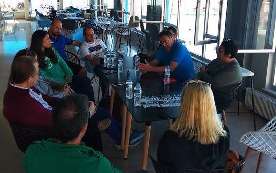 Σωματεία της Αργολίδα είχαν συναντηση με το Δ.Σ της Ένωσης Σωματείων Πετοσφαίρισης Πελοποννήσου