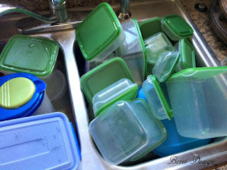 How to organize food storage lids for free