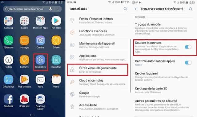 إذا كان يمكنك تنزيل ملفات APK ، فيجب السماح بالوصول إلى التطبيقات غير الموجودة في متجر Google Play من هاتفك. هذه الخطوة مطلوبة لتثبيت APK.