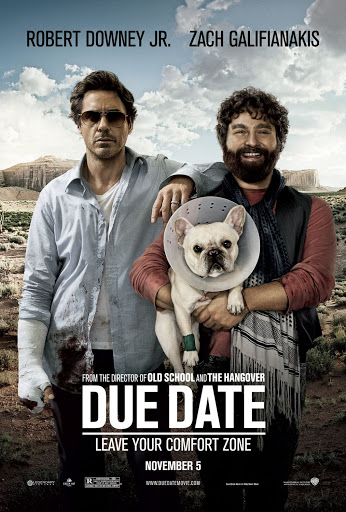 Due Date Hollywood Comedy movie dubbed in hindi