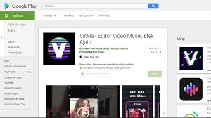Vinkle Musik Video Editor