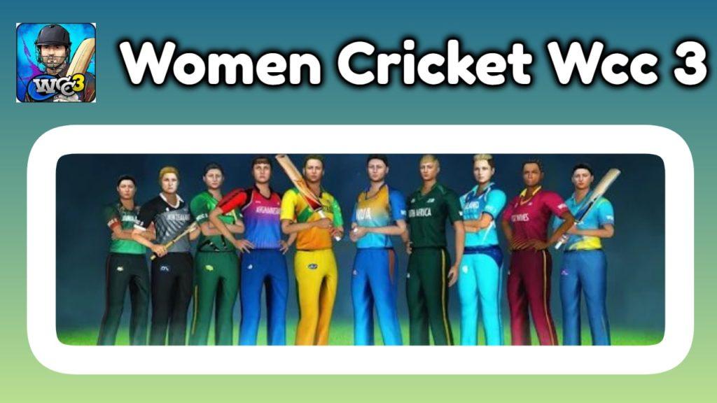 wcc 3 women's cricket