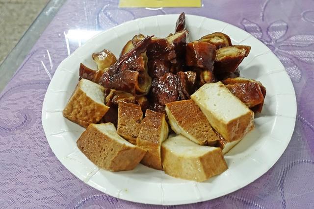 百頁豆腐、麵腸