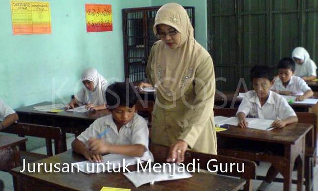 jurusan wajib guru
