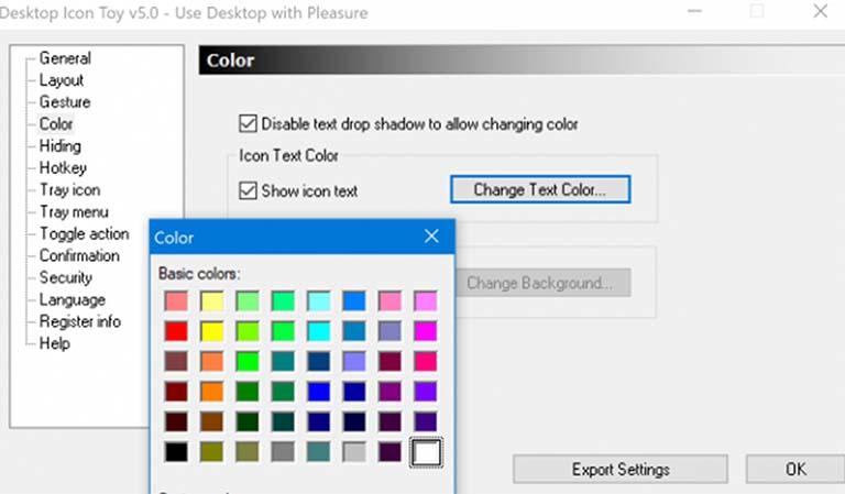 Cara Mengubah Warna Font Huruf Desktop Windows 10