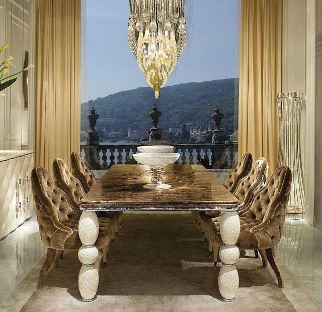 Mediterranean Modern Dining Table