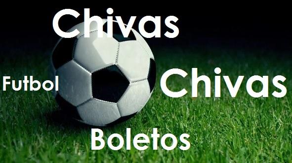 Texto de Chivas Boletos y Balon de Futbol Soccer
