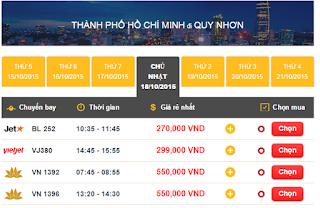 Làm sao để săn được vé máy bay giá rẻ đi Quy Nhơn