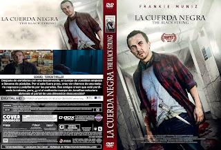 CARATULA LA CUERDA NEGRA-THE BLACK STRING 2018[COVER DVD]