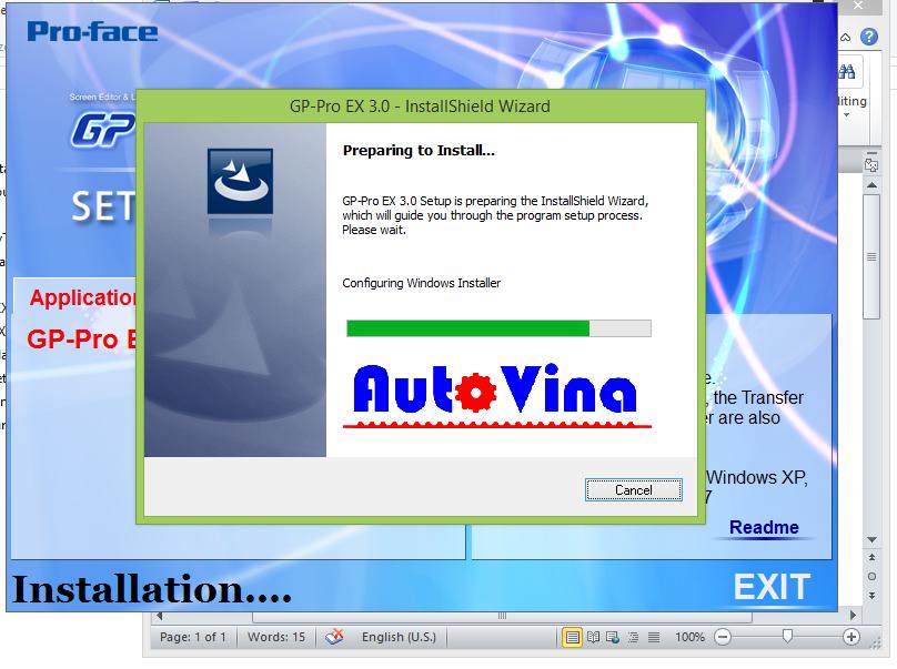 Cung cấp phần mềm miễn phí, link tải phần mềm lập trình HMI Proface GP-Pro EX 3.0