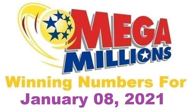 Mega Millions Winning Numbers for Friday, January 08, 2021