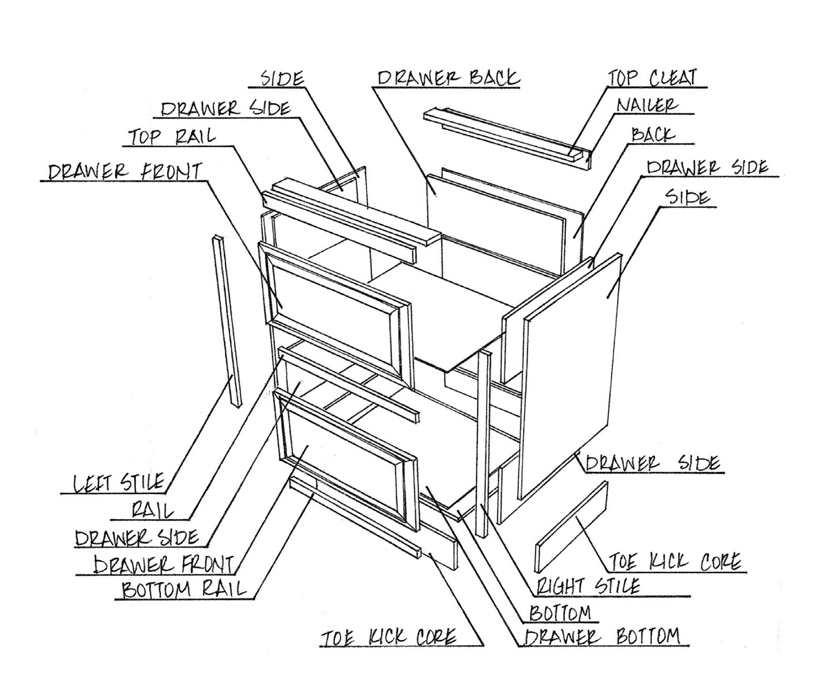 Day Bed Cabinet
