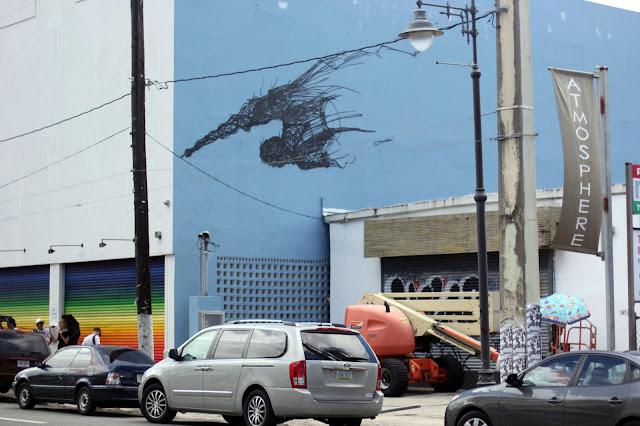 Street Art By Chinese Artist DALeast For Los Muros Hablan '13 In Puerto Rico. 2