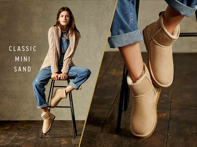 Classic Mini Ugg Casual Fall 2015