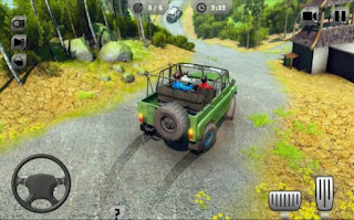 Offroad Jeep Driving & Racing Screenshot