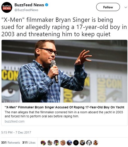 An Open Secret Bryan Singer And The Hollywood Gay Pedophile Scandal  The Other -5905