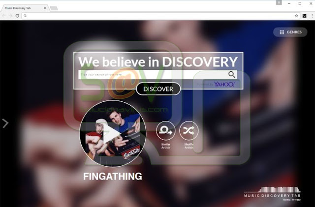 Search.musicdiscoverytab.com (Hijacker)
