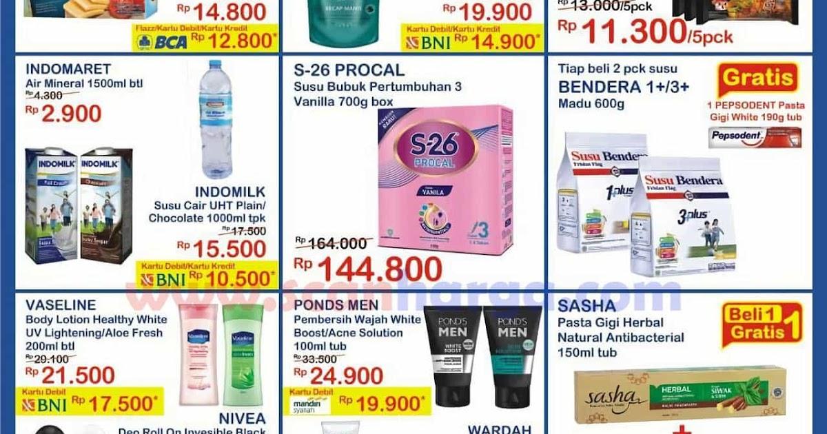 Katalog Promo JSM Indomaret Terbaru 25 - 27 September 2020 ...