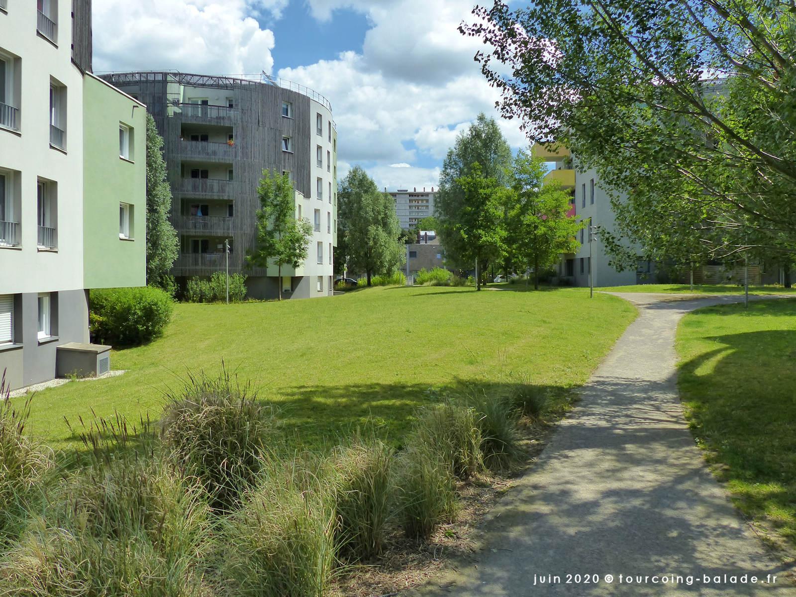 Résidences Les Jardins de Belencontre, Tourcoing, 2020