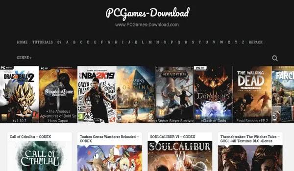 موقع PCGames-Download لتحميل الألعاب