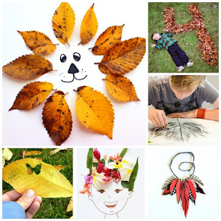 50+ super fun ways to use Fall leaves! FALL LEAF CRAFTS FOR KIDS #fallleafcrafts #fallcrafts #thingstodowithleaves #fallcraftsforkidspreschool #growingajeweledrose #leafart #leaves #fallleafcrafts