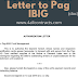 Authorization letter to process pag ibig loan
