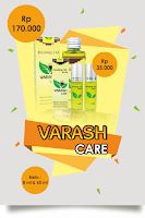 Varash Care Roll On & 60 ml