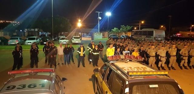 Águas Lindas: Operação com 142 policiais na repressão a atividades criminosas