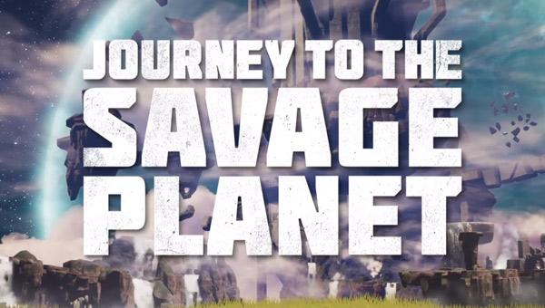 لعبة journey to the savage planet