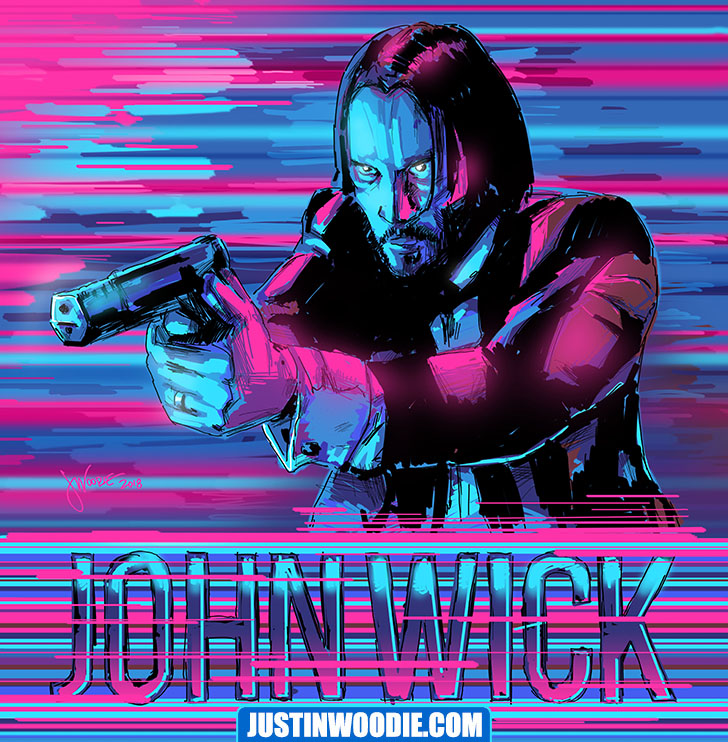 John Wick Illustration