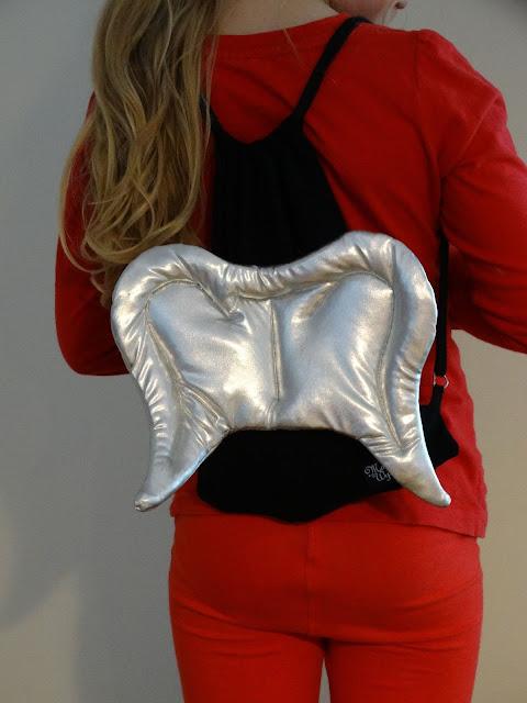 plecak worek dla dzieci srebrny 5