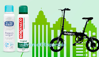 Logo Neutro Roberts e Borotalco ''Gentile con l'Ambiente Efficace con la tua vita'': vinci 21 E-Bike