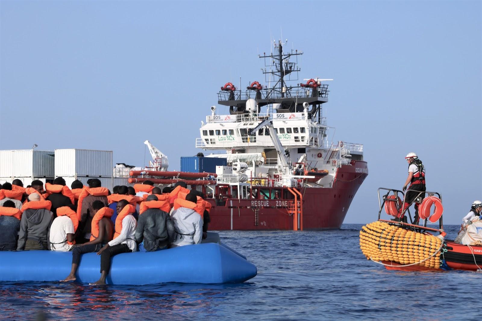 Ocean-Viking : l'Italie pourrait accueillir lundi les migrants secourus par le navire humanitaire