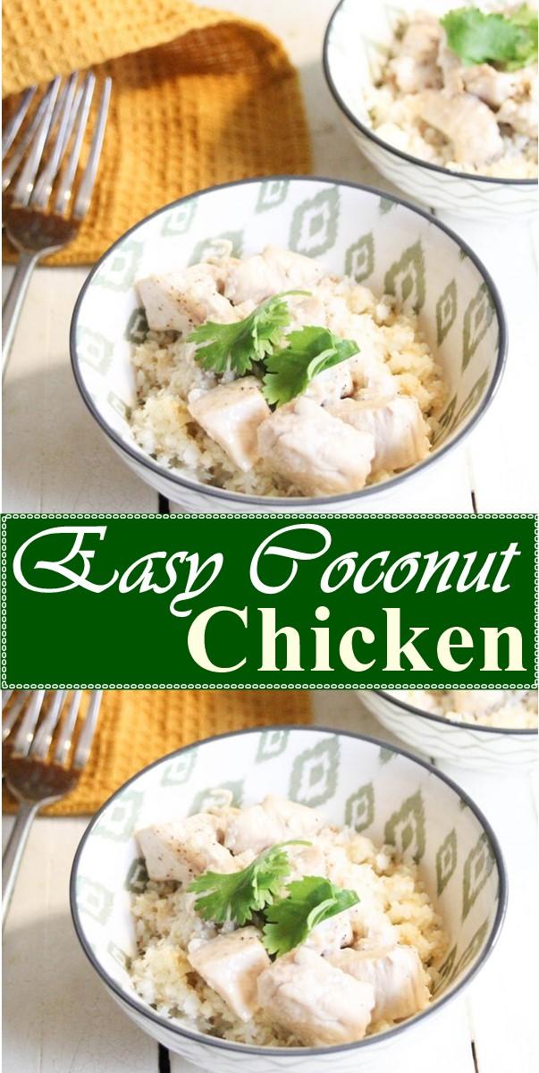 Easy Coconut Chicken #Dinnerrecipes