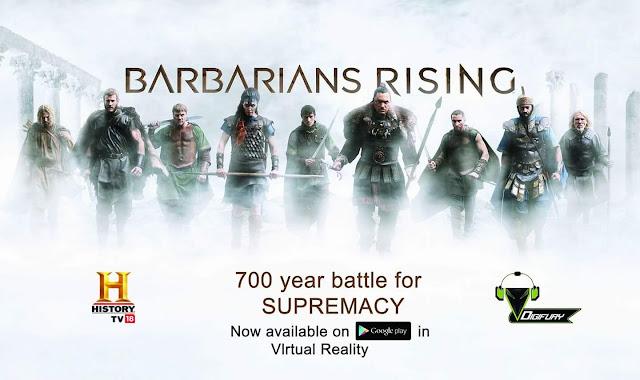 'Barbarians Rising' Upcoming Tv Show on History Tv India Wiki Plot,Promo,Timing