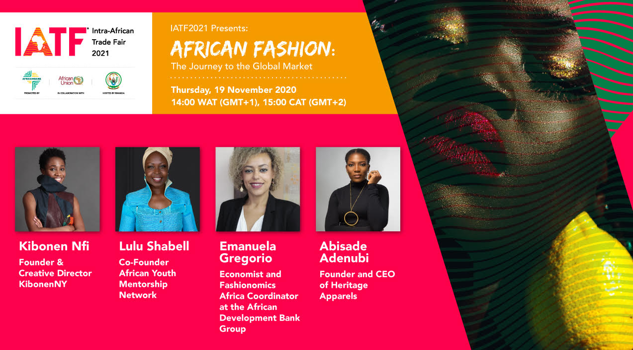 IATF2021 Presents African Fashion: The Journey To The Global Market - A Creative Sector Webinar