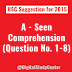 HSC Suggestion for 2015 | English 1st Paper | Seen Comprehension | Jessore Board