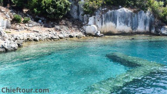 Kekova Island, Turkish attractions: