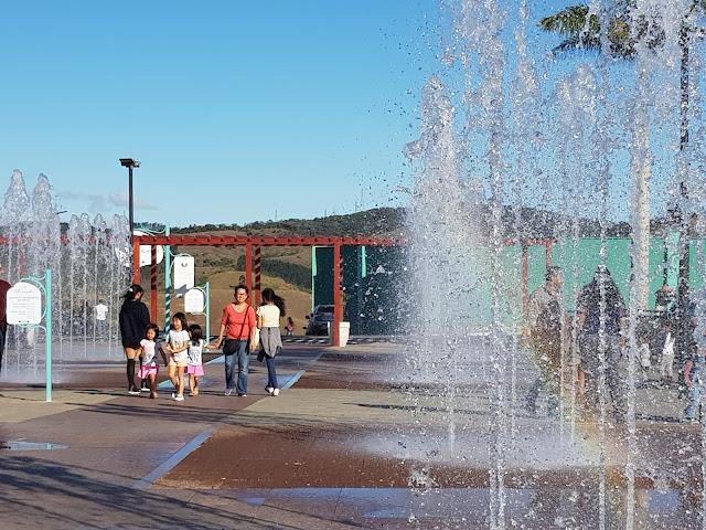 ミランチ・デ・グァラレマの噴水