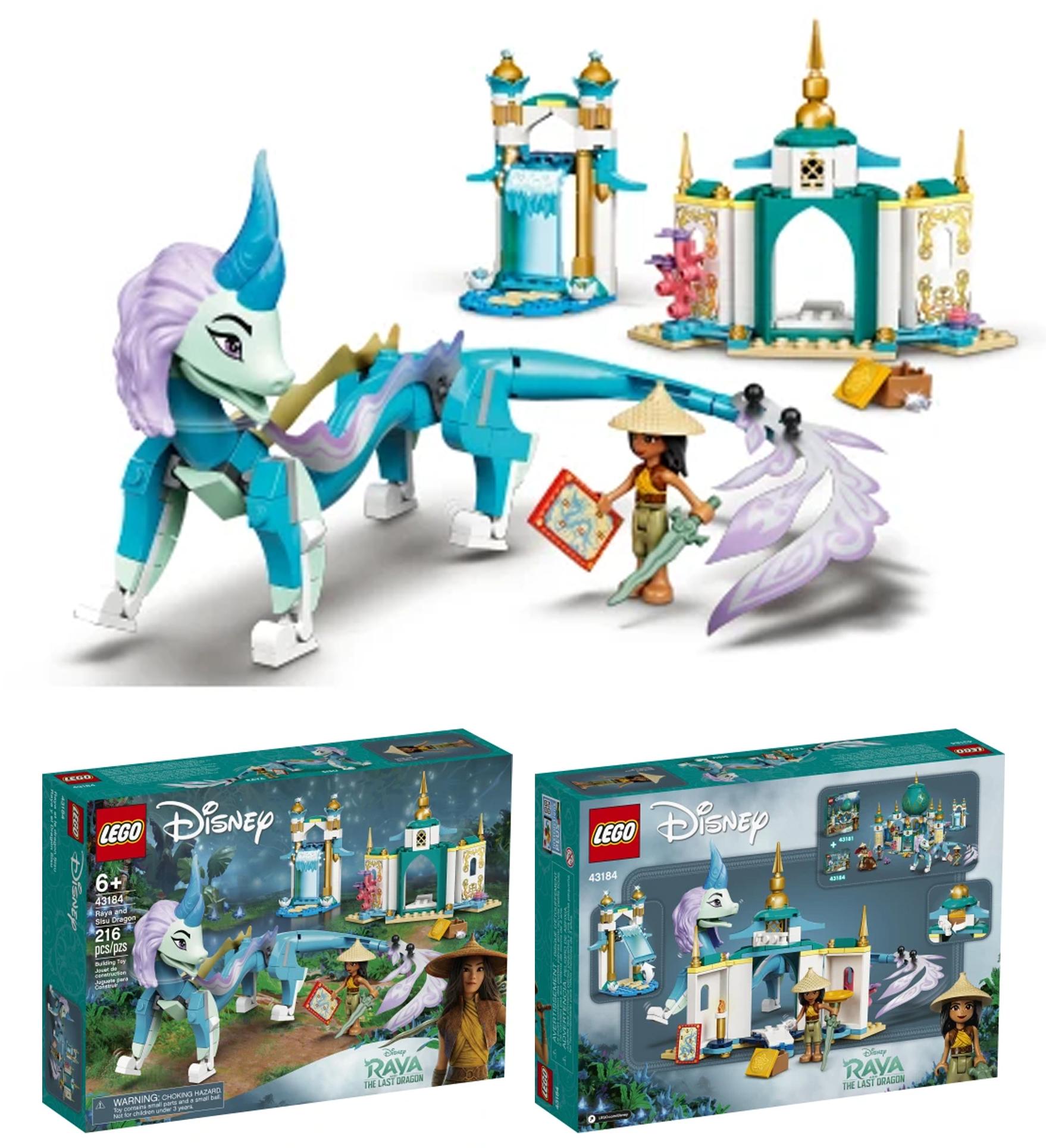 2021年3月レゴ ディズニープリンセス新製品情報:新作『ラーヤと龍の王国』発売