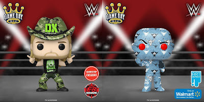 New WWE Retailer Exclusive Pop! Vinyl Figures by Funko