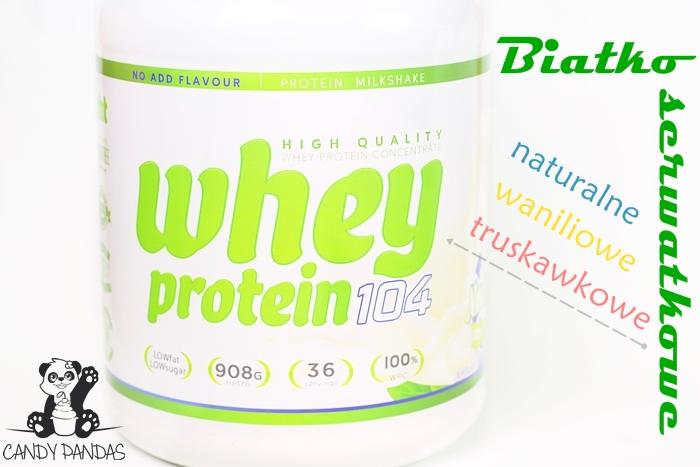 Koktajl odchudzający Whey Protein 104 - Natural Health Technology