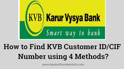 How to Find KVB Customer ID