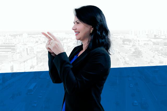 Maria Yvelonia mostra força da mulher na política de Valparaíso