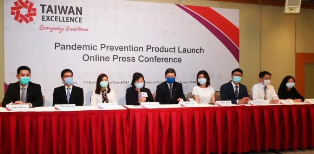 Taiwan launches ecosystem of products to combat COVID-19