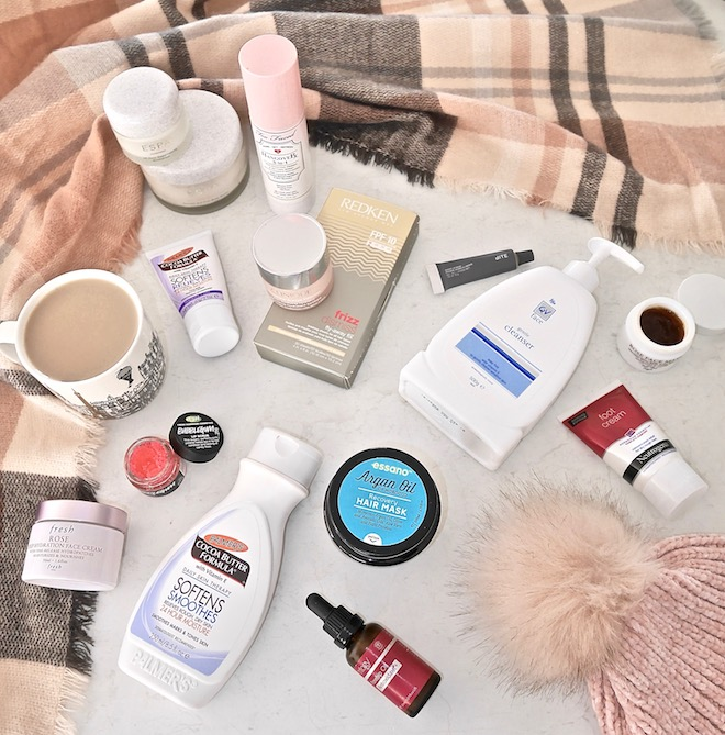 Hydrating skincare products for cold weather